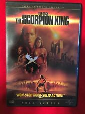 The Scorpion King (Dvd, 2002, Full Frame, Collector's Edition)