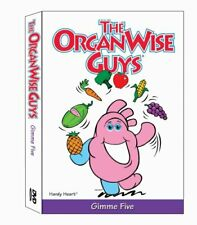 The OrganWise Guys: Gimme Five DVD DISC & ARTWORK ONLY NO CASE UNUSED CONDITION