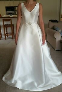 PRONOVIAS Wedding Dress, ALCOBA, Size UK 16, £800, PLUS SIZE
