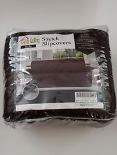 ~Easy-Going~ Reversible Stretch Slipcover Sofa Chocolate Brown