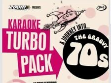 KARAOKE CDG    TURBO PACK  104 GROOVY HITS from 70s    (SET  6 to 10 )