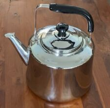 Lehman's Giant Stainless Steel 2 Gallon Whistling Tea Kettle #1176915 New