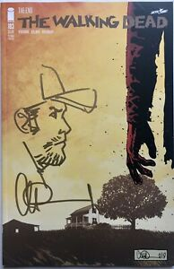 THE WALKING DEAD #193 w/SHANE REMARQUE & SIGNED BY CHARLIE ADLARD 2ND PRINT