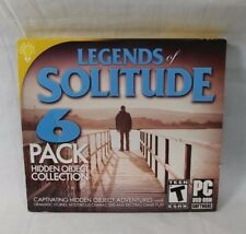 Legends of Solitude 6 Pack Hidden Object Collection PC DVD ROM Game