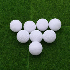 8pcs Plastic Golf Balls Game Toy Balls Indoor Outdoor Practice Balls