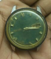 VINTAGE SEIKO 6619-8010 SPORTSMATIC AUTOMATIC WATCH ( BALANCE IS OK ) FOR PARTS