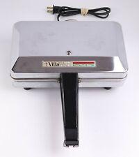 Vintage VillaWare Prima Pizelle Maker 5000 Italian Waffle Iron