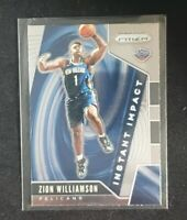2019-2020 Zion Williamson Panini Prizm Rookie Card / RC Pelicans 🔥 Sharp! 🔥