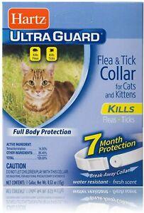 Hartz Ultra Guard Flea and Tick for Cat and Kitten Collar