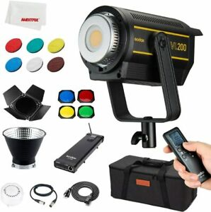 VL200 200w New LED Lights 5600K Day Light CRI 96+ TLCI 95 with BD-04