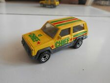 "Matchbox Jeep Cherokee ""BP"" in Yellow"