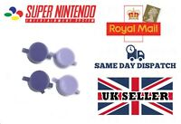 SNES CONTROLLER REPLACEMENT PURPLE BUTTONS SUPER NINTENDO FAMICOM  - BRAND NEW
