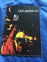 Led Zeppelin Japan tour book 1972 Jimmy page Robert Plant John P Jones Bonzo
