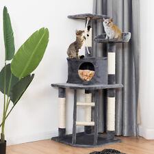 Arbre à Chat avec Griffoir, niche, jouet et l'échelle 120 cm Centre d'Activité