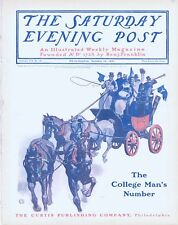 Saturday Evening Post  -  Full Magazine -  No Mailing Label -  October 12, 1901