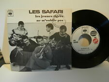 "les safari""les jeunes tigres""single7""promo.juke-box fra.cbs:dp2537 biem de 1966"