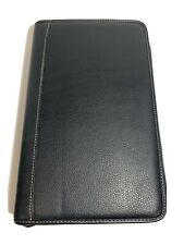 40 Disc CD/DVD Black Leather Case Wallet NICE