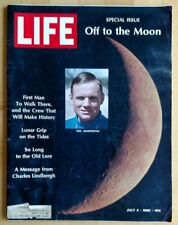 Life Magazine, Off to the Moon, July 4, 1969, Special Issue on Apollo 11 Mission
