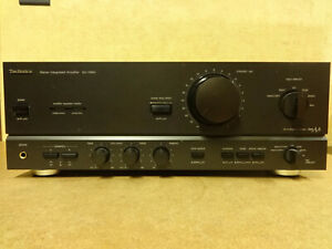 INTEGRATED STEREO AMPLIFIER TECHNICS SU-V660