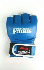 7oz MMA Gloves L Blue sparing gloves.kyokushin.karate