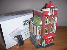 """Dept 56 """"Wong'S In Chinatown"""" Christmas in the City"""