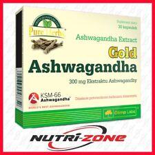OLIMP GOLD ASHWAGANDHA Indian Ginseng Antioxidant Nervous Immune System Support