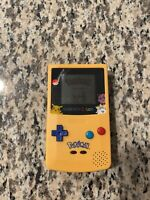 Gameboy Color Pokemon Pikachu Edition From Nintendo!!!