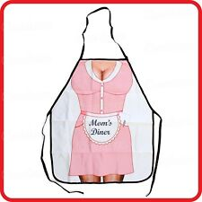 APRON-ATTITUDE FUNNY-SEXY MAMA MUM MAM'S DINNER-COOKING-COSTUME-BBQ-PARTY