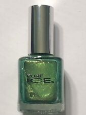"""NEW PURE ICE NAIL POLISH """"SADDLE ME UP""""  GREEN SHIMMER LACQUER ENAMEL"""