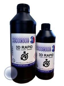Monocure Rapid 3D Resin for DLP UV Cure 3D Printers