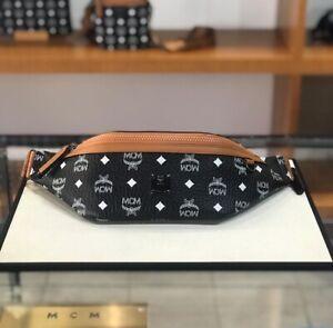 Authentic MCM Unsex Medium Size Belt Bag $650+ Tax