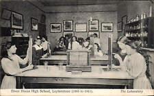 Leytonstone. Elson House High School. The Laboratory by P.A. Buchanan.
