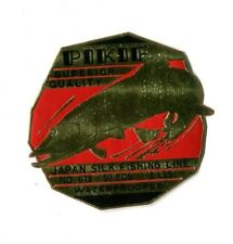 Vintage Foil Label Pikie Fishing Line Japanese Silk