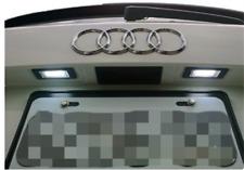 2xLED Kennzeichen Beleuchtung Kennzeichenbeleuchtung Lampe Audi