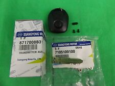 GENUINE SSANGYONG REXTON SUV Y220II 2.7L TD ALL MODEL TRANSMITTER KEY ASSY SET