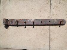 Edwardian Cast Iron gate Bracket Hinge Handmade 68cm long with original bolts