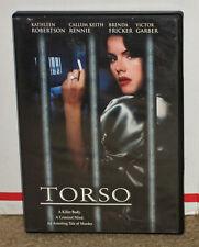 Torso DVD Kathleen Robertson