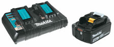 Makita BL1850XDC18RD 2 X 5ah Battery and Twin Charger Kit