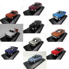 Lot de 10 Voitures Miniatures Renault Peugeot Ford 1/43 Diecast Model Car LAQV10