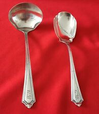 Gorham  PLYMOUTH   Sterling ~ Cream Ladle and Sugar Spoon