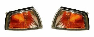 1997 - 2002 MITSUBISHI MIRAGE CPE PARK/SIGNAL LAMP LIGHT LEFT & RIGHT PAIR SET