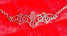 GOTHIC BAT NECKLACE - goth deathrock steampunk biker horror vampire victorian