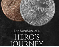 2020 - 1 oz Hero's Journey MiniMintage BU .999 Fine Silver Round - IN-STOCK!!