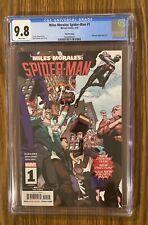 Miles Morales: Spider-Man #1  - 3rd Print Variant Low Print Run, CGC 9.8 🔥 🔑