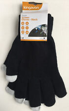 Black Touch Screen Gloves - Use Ipod Ipad Iphone Smart Phone With Gloves On