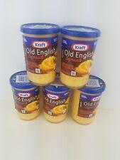 5 Pack Kraft Old English Sharp Cheddar Cheese Spread 5 oz Jar
