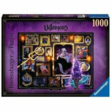 Puzzle 1000 Pz Pezzi Disney Villainous Ursula New by Ravensburger