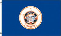 3x5 Minnesota Flag 3'x5' House Banner grommets super polyester