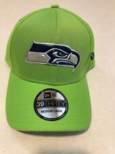 7b3495e50 New Era Seattle Seahawks Neon Green 2017 Color Rush 39THIRTY Flex Hat M-L