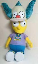 "Bart Simpson in Krusty the Clown Costume Plush  20"""